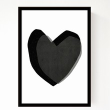 Seventy Tree Black Heart A3