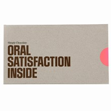 Simply Chocolate ORAL SATISFACTION INSIDE