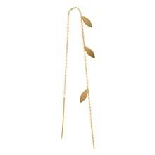 Stine A 3 Petit Leaves Earring Guld