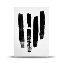 Studio Arhoj Postkort Ink Strokes