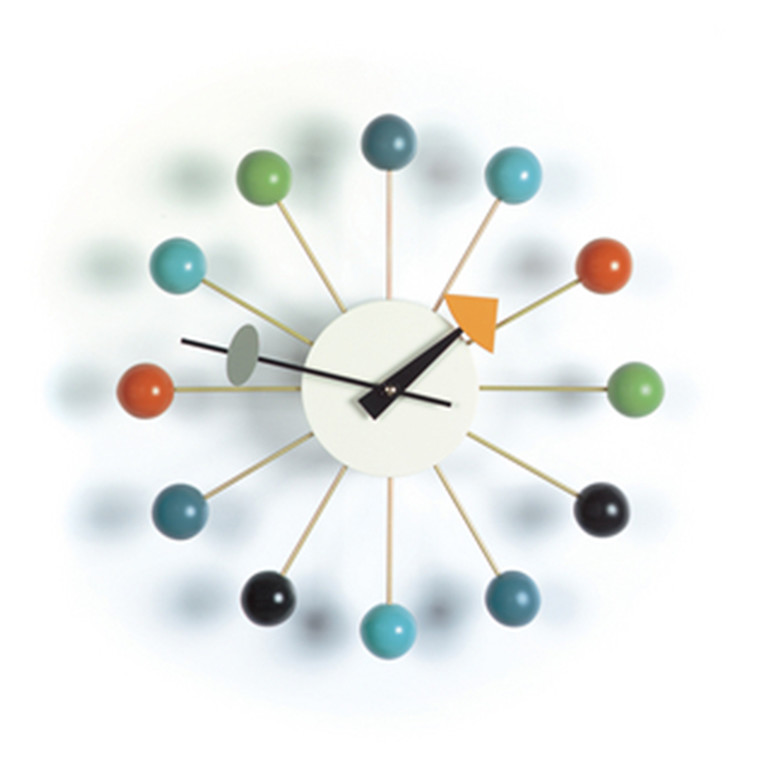 Vita Ball Clock i Multifarvet