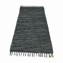 Rug solid Skindtæpper Dark Grey