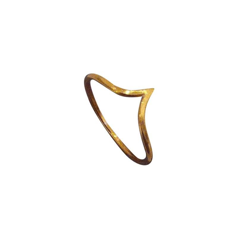 Vera Vega Mini Willow Ring Guld » Køb online!