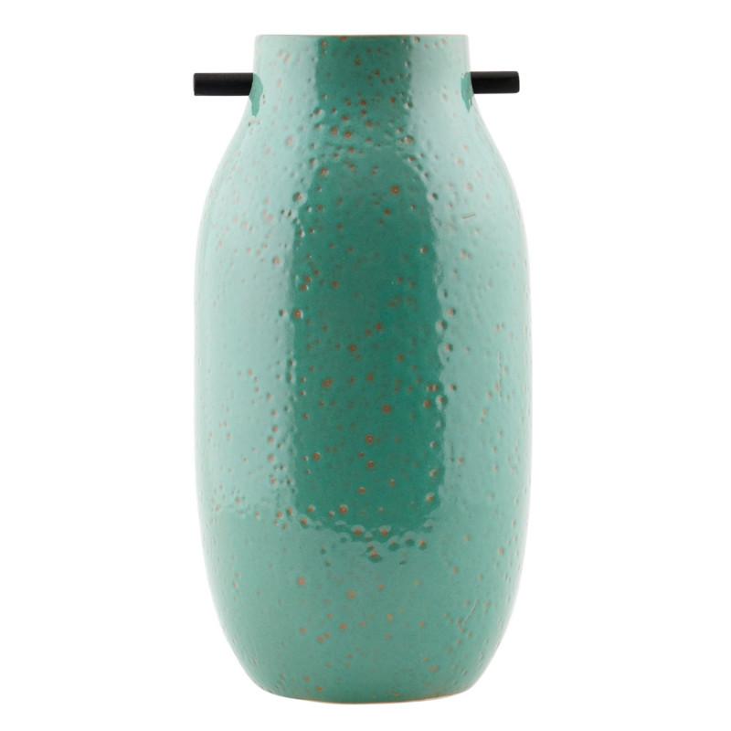 house doctor vase woody gr n stor. Black Bedroom Furniture Sets. Home Design Ideas