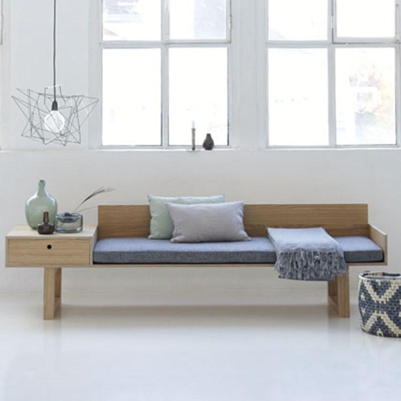 mf0250 sofa oak finer incl hynde house doctor m bler. Black Bedroom Furniture Sets. Home Design Ideas