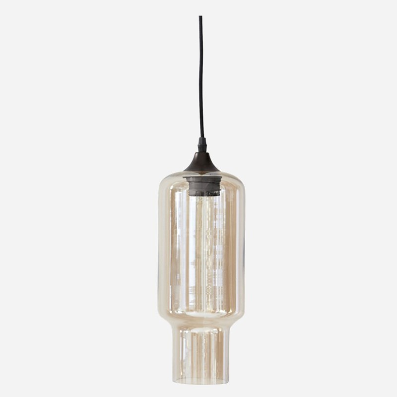 House Doctor Lampe Cube Smokey - House Doctor Lampe
