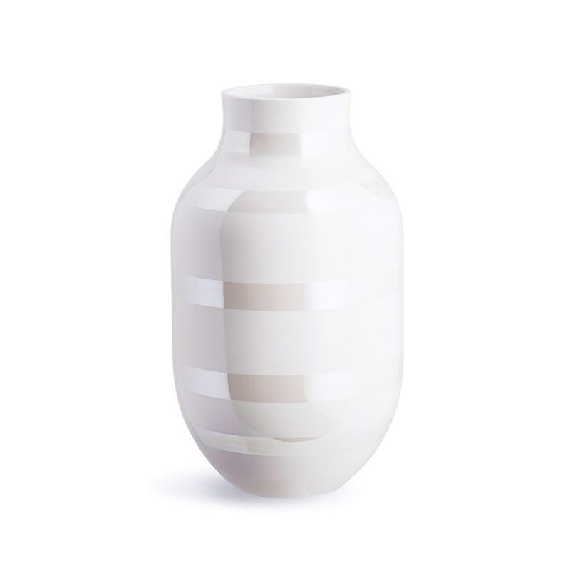 Kähler Omaggio Vase perlemor - Kähler porcelæn online