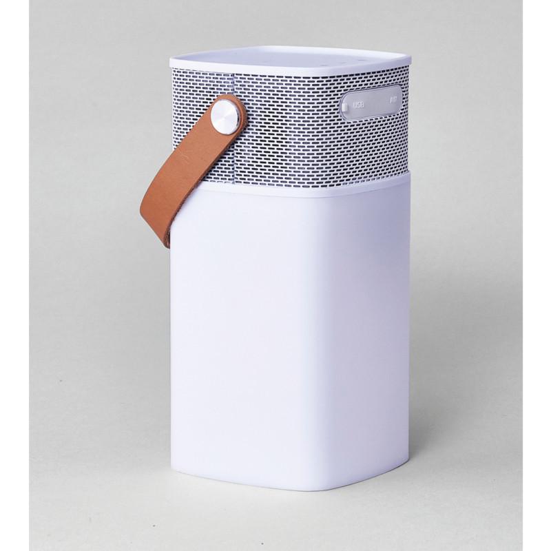 kreafunk aglow h jtaler lampe og powerbank i n k b kreafunk her. Black Bedroom Furniture Sets. Home Design Ideas