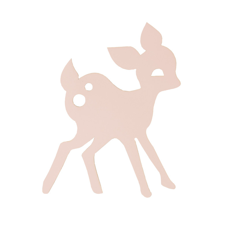 ferm living bambi lampe rosa my deer lampe til b rnev relset. Black Bedroom Furniture Sets. Home Design Ideas