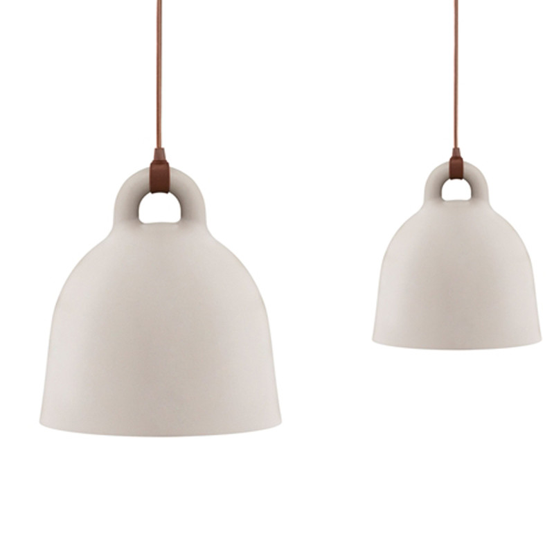 normann copenhagen bell lamp sand k b online her. Black Bedroom Furniture Sets. Home Design Ideas