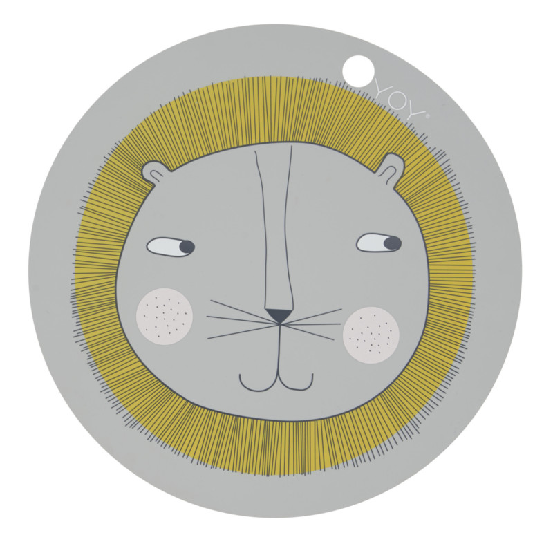 OYOY Rund Dækkeserviet Løve