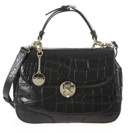 DKNY Gramercy Corco leather Taske