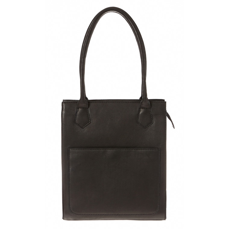 Belsac shopper i skind