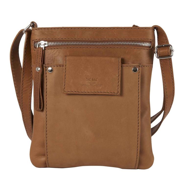 BelSac lille taske med fin lomme foran