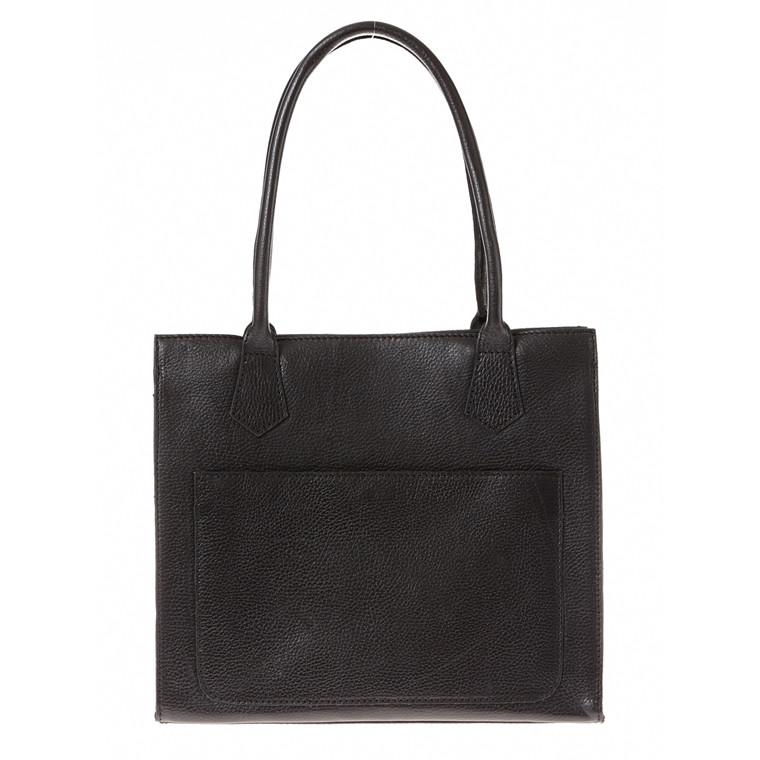 Belsac A4 taske i skind