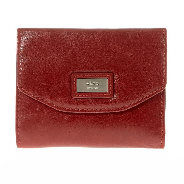Adax Salerno pung med lynlås og klap
