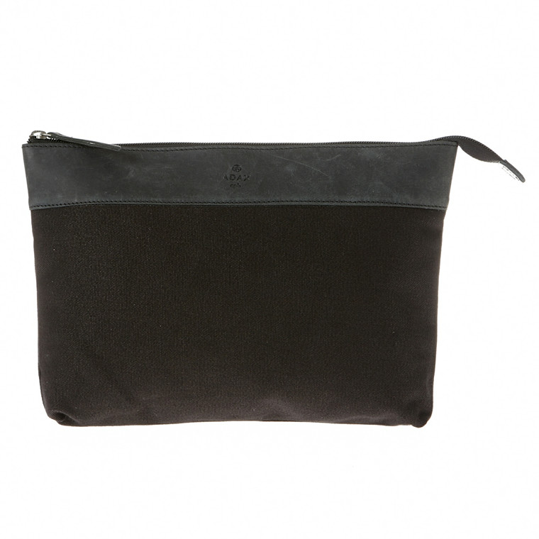 Adax Cph canvas clutch