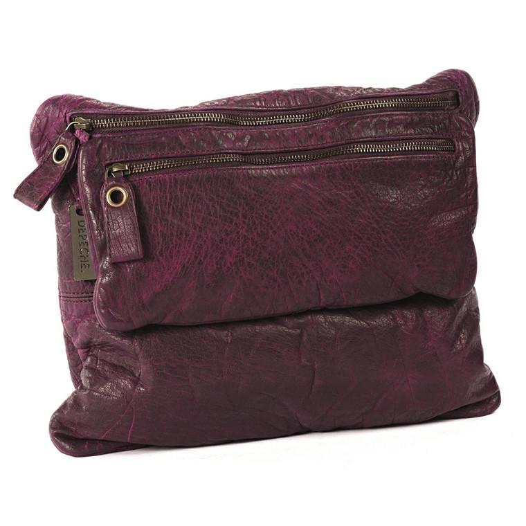 Depeche flad skind taske