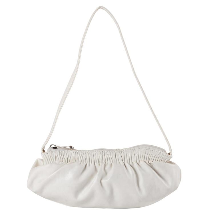 Cazzac Lille taske med rynket kant