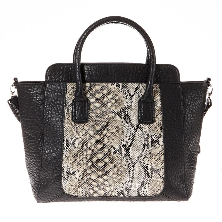 Dixie Haylei A4 taske med slangepræg