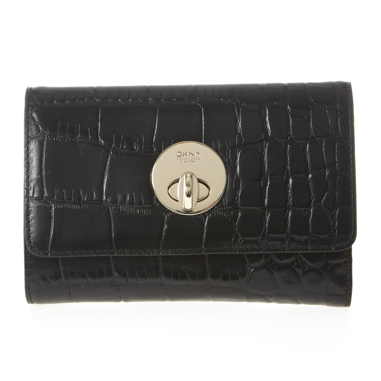 DKNY Croco leather pung