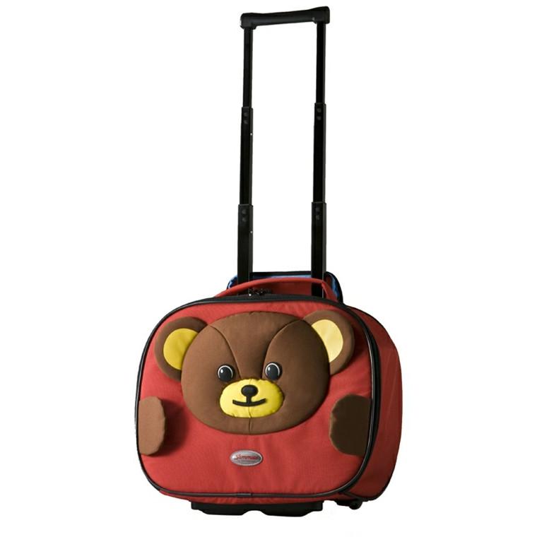 Samsonite Sammies Roll Schoolbag Teddy Bear
