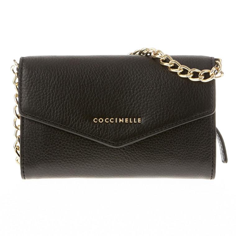 Coccinelle minibag m/klap og kæde