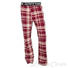 24015837 Outfitters Nation Pyjamas Bukser BORDEAUX