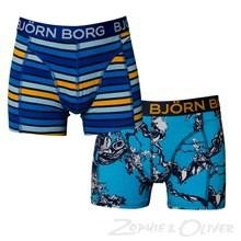 B156179-502072 Bjørn Borg 2 pk shorts BLÅ