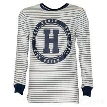 2160703 Hound T-shirt l/æ STRIBET
