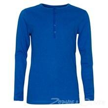 2160727 Hound Granddad T-shirt l/æ blå