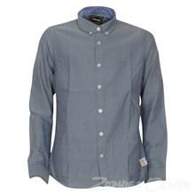2160713 Hound Oxford Skjorte  MARINE