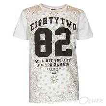 4603342 DWG Olaf 342 T-shirt HVID