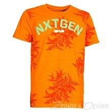 4603411 DWG Brad 411 T-shirt  ORANGE