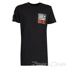4502053 DWG  Samurai 053 T-shirt SORT