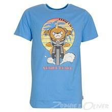 4803027 DWG Simon 027 T-shirt  BLÅ