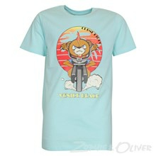 4803027 DWG Simon 027 T-shirt  TURKIS