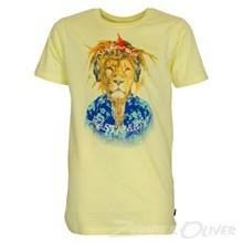 4803023 DWG Linus 023 T-shirt  GUL