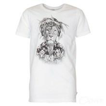 4803023 DWG Linus 023 T-shirt  HVID