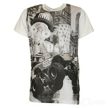 4007107 DWG Elias 107 T-shirt  Off white