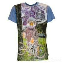 4007113 DWG Kenny 113 T-shirt  LYS BLÅ