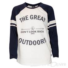 4009228 DWG Matti 228 T-shirt L/Æ Off white