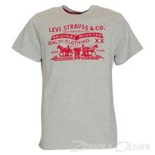 N91000H Levis T-shirt  GRÅ