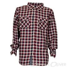 1402-620 Native Carrington skjorte BORDEAUX