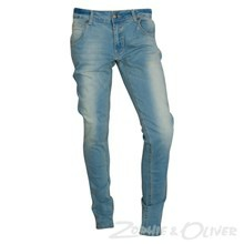 1532-751 Native Sidney Tapered denim pants Bukser BLÅ