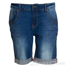 1532-411 Native Seville Regular denim shorts  BLÅ