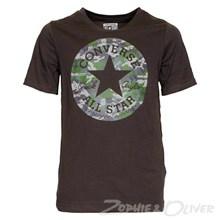 964345 Converse T-shirt GRÅ
