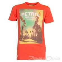 B-HS15-TSR29 Petrol Tee round neck T-shirt RØD