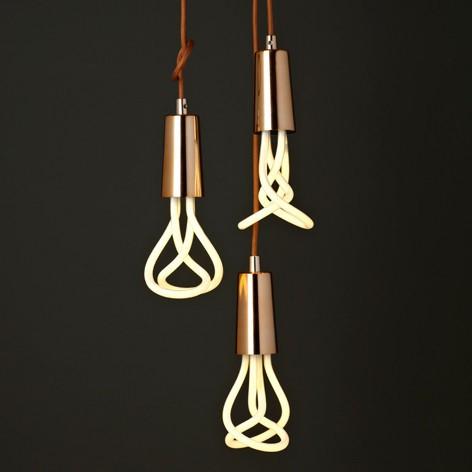 lampadario bronzo : Plumen Drop Cap tailor-made for Plumen 001 - e3Light