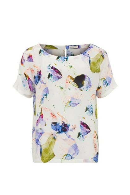 Mos Mosh Adele Orchid Top, offwhite
